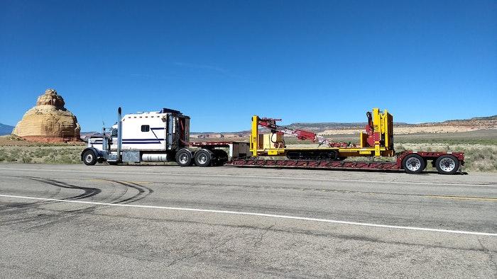 Big Bertha on Devils Highway in Utah