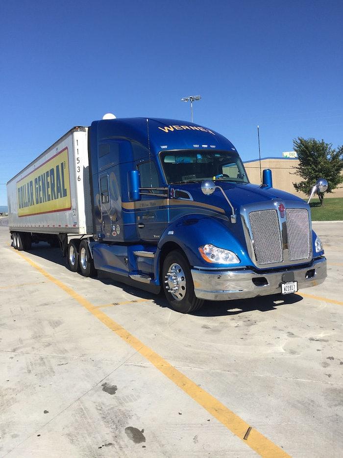 2016 KW 680. 2 million mile reward truck