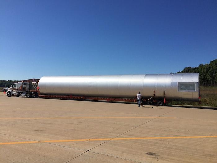Aluminum Storage Silo