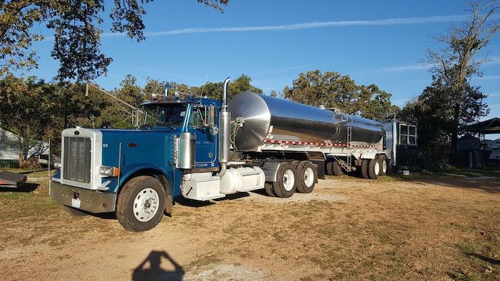 Milk hauling
