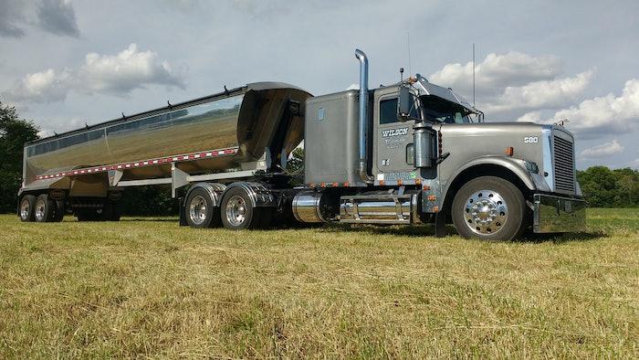 Brent Wilson Trucking Photo