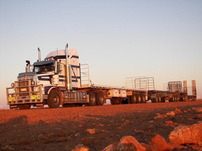 T650 in the desert