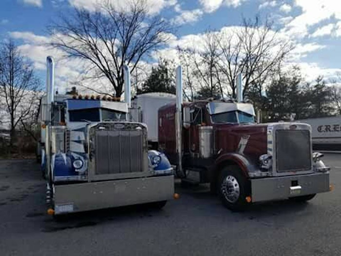 Father and son trucks