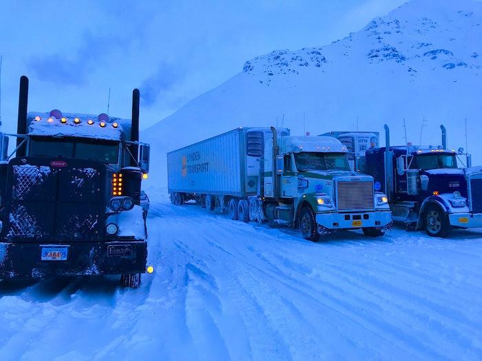 Stuck on Adigan Pass Alaska 2018