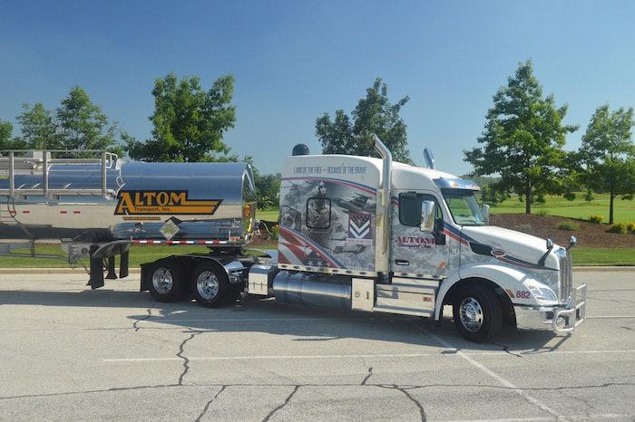 Altom Transport's Military Tribute Truck
