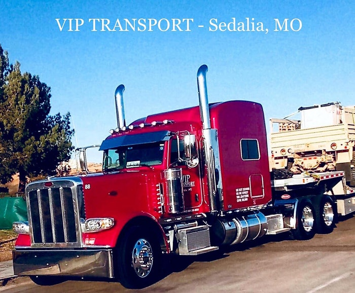 VIP Transport LLC Peterbilt 389