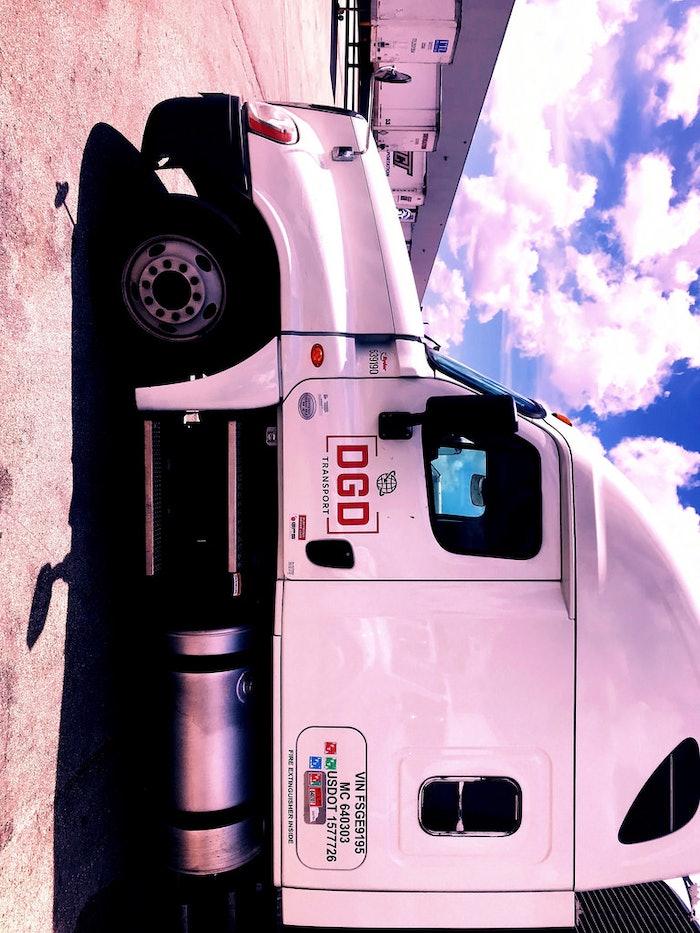 DGD Transport Truck Unloading