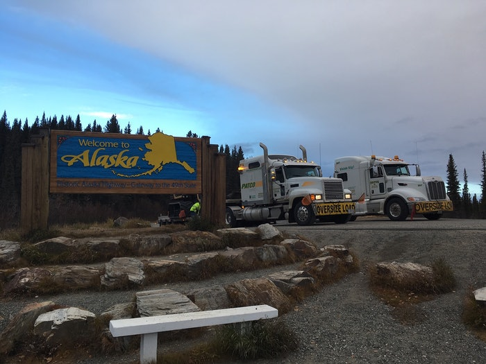 Patco on the way to Alaska