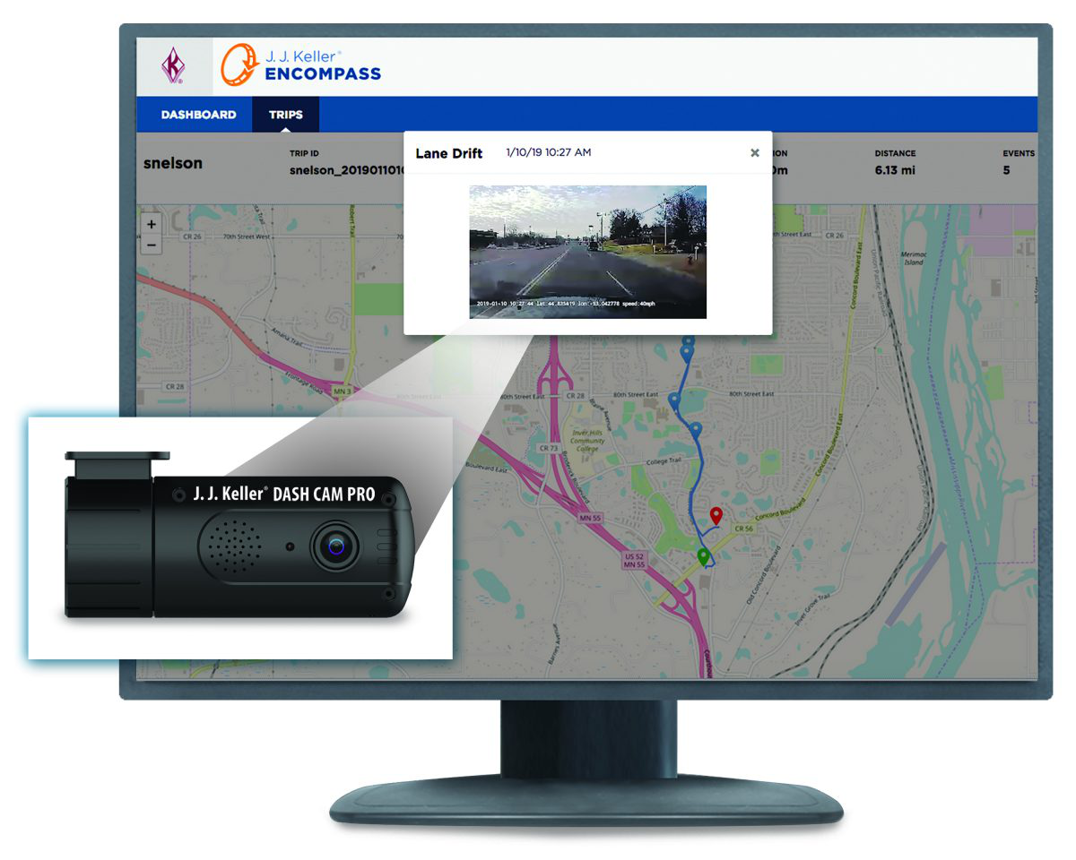 J J  Keller to introduce new truck driver monitoring system