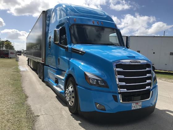 An inside look at the semi-autonomous Freightliner Cascadia