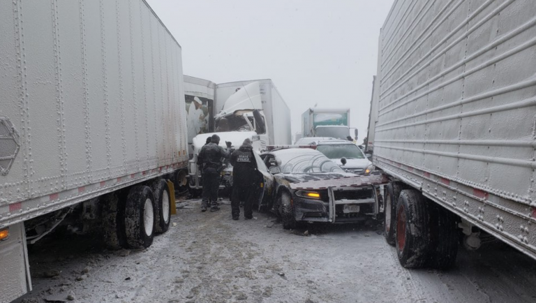 Truck ban lifted on most New York highways