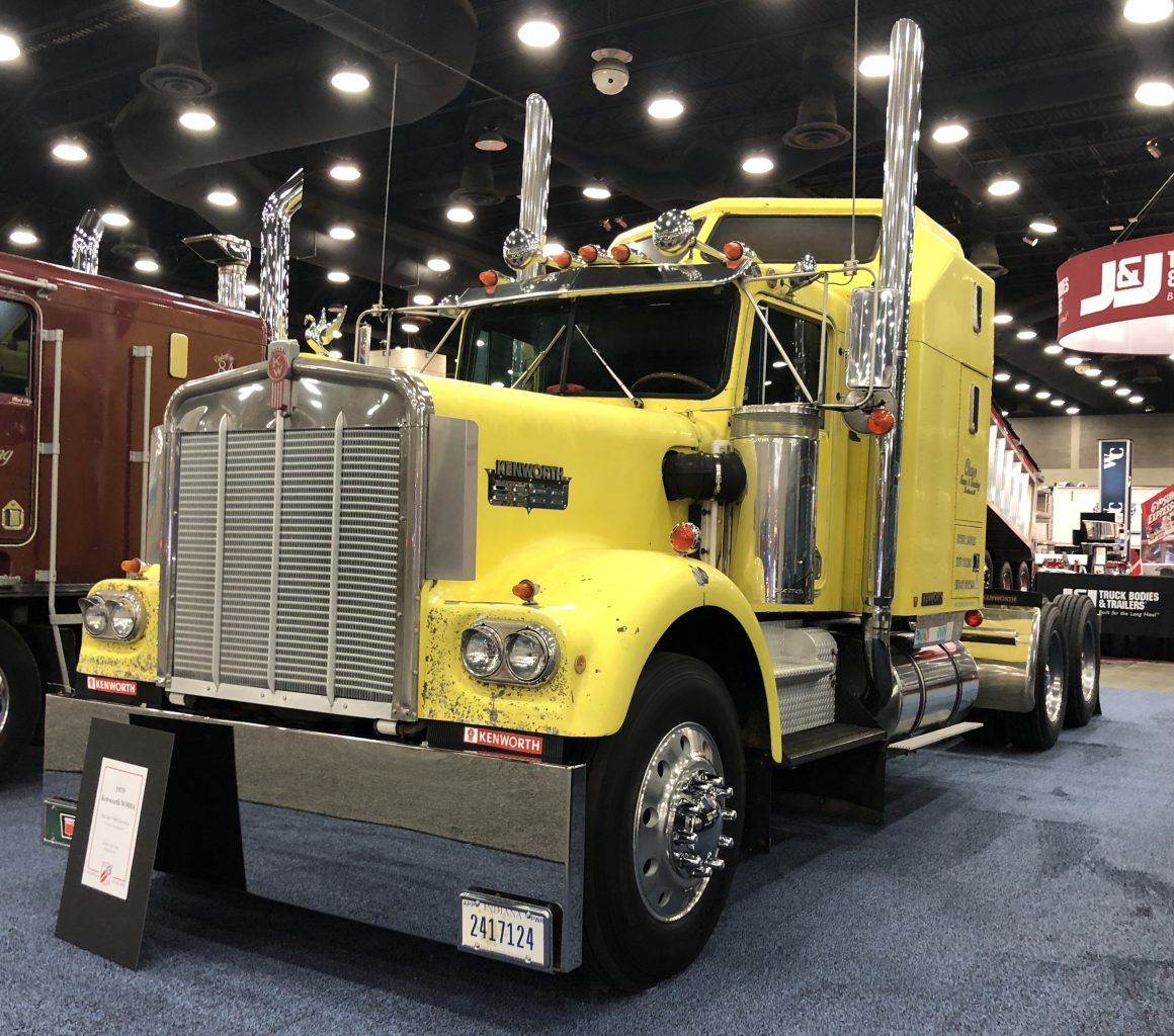 Photos: Antique trucks on display throughout MATS
