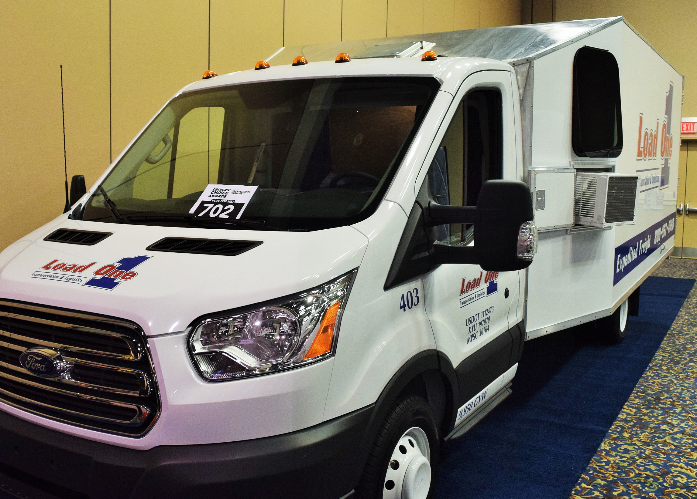 One cargo van owner's competitive edge in vehicle configuration