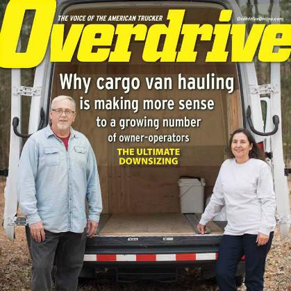 The lowdown on downsizing: Hauling in the cargo van owner-op niche