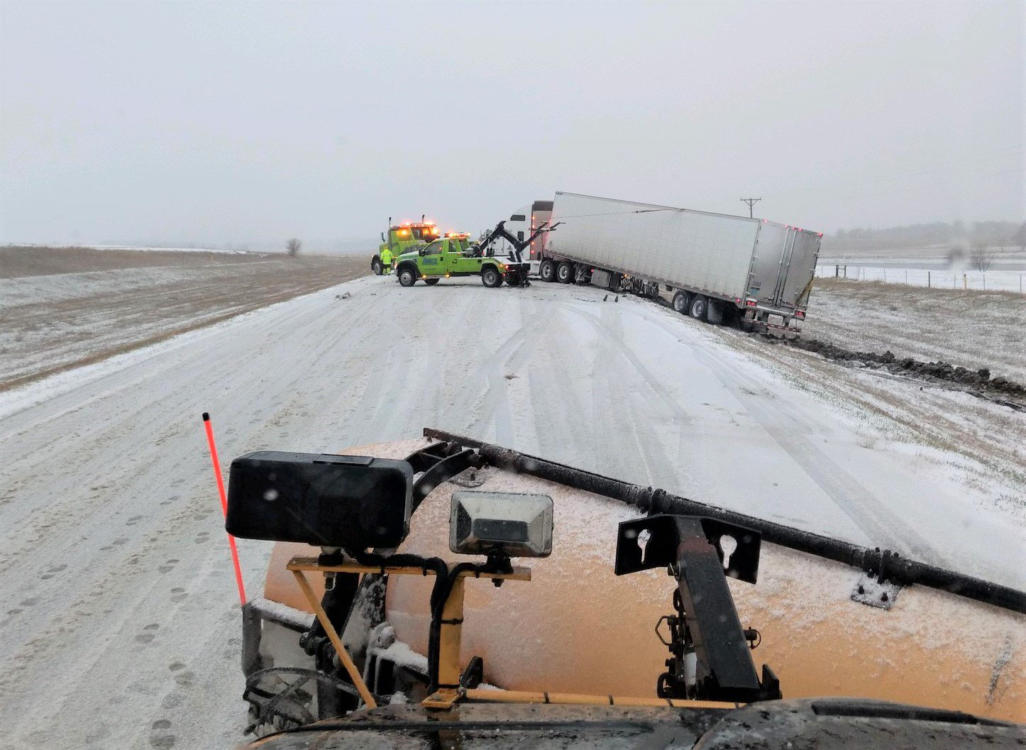 Blizzard shuts down interstates in Nebraska, South Dakota