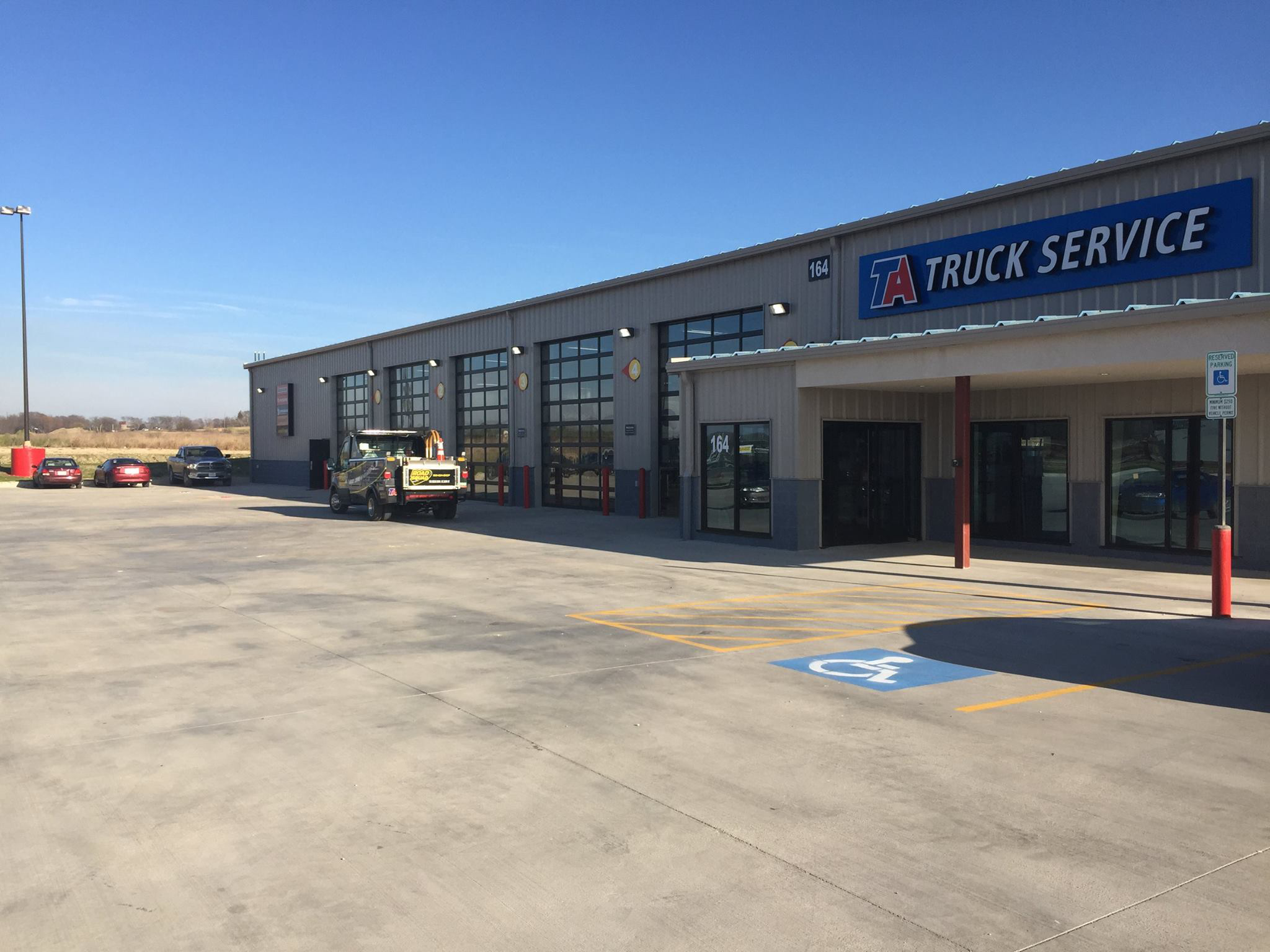 Ta Truck Service Center Added To Fairburn  Georgia  Location