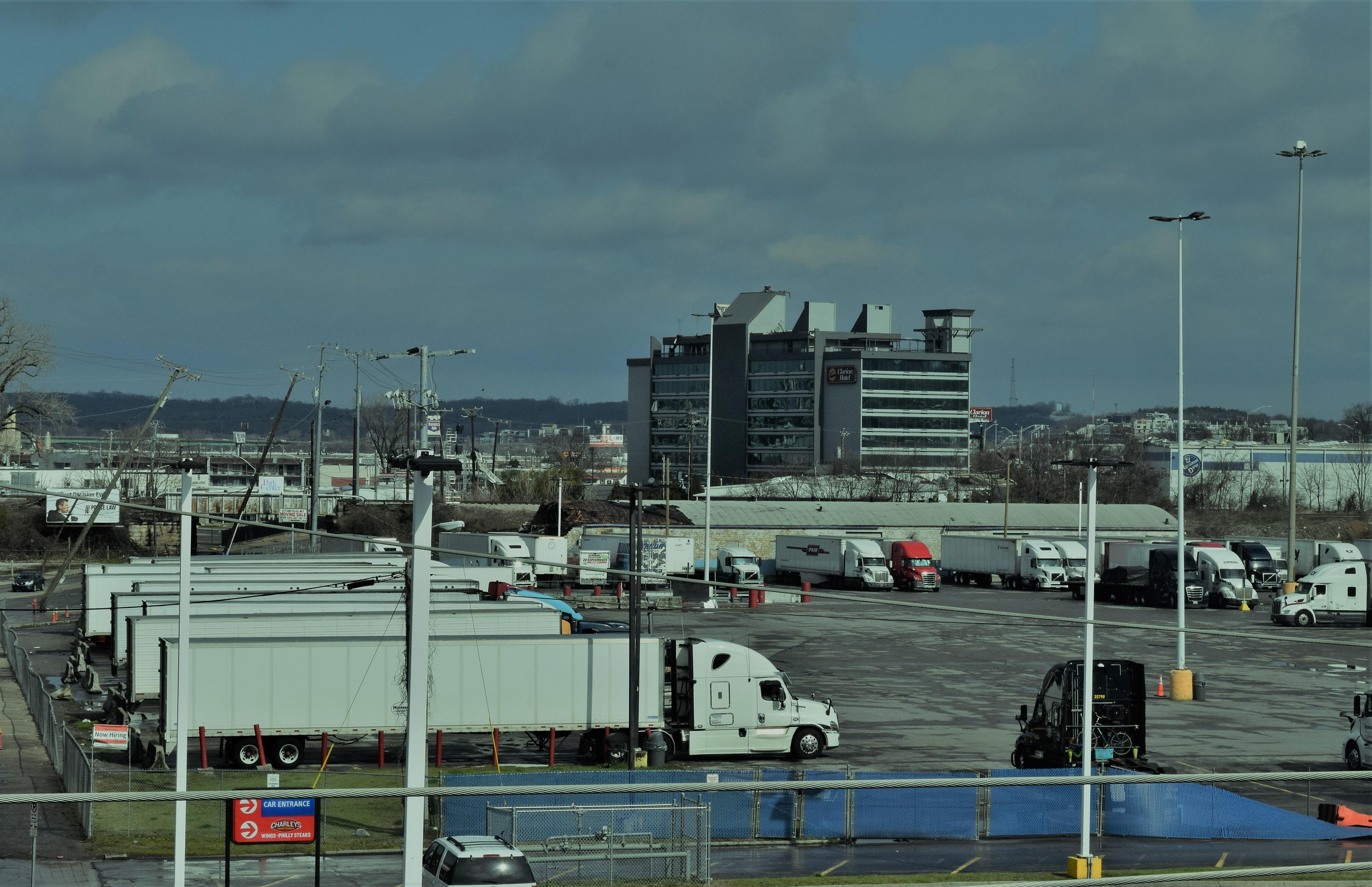 semi trucks parked nashville TA