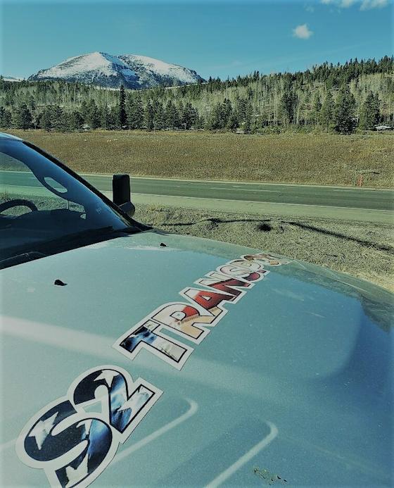 S2 Transport logo on Ram 3500 diesel truck