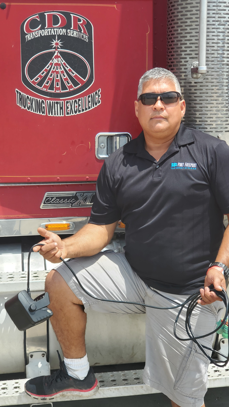 CDR Transportation Services owner Alipio Montano