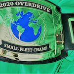 2020 Overdrive Small Fleet Champ award belt
