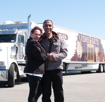 Jose Williams and his business and life partner, Lucille Torres