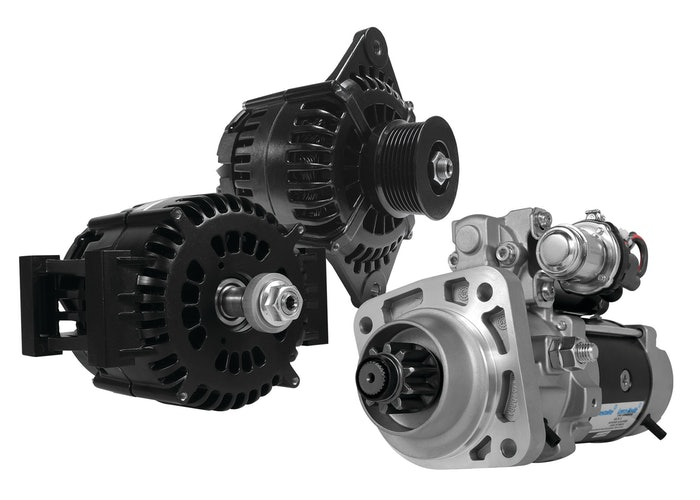 Prestolite's IdlePro alternators and PowerPro Extreme 5 starters.