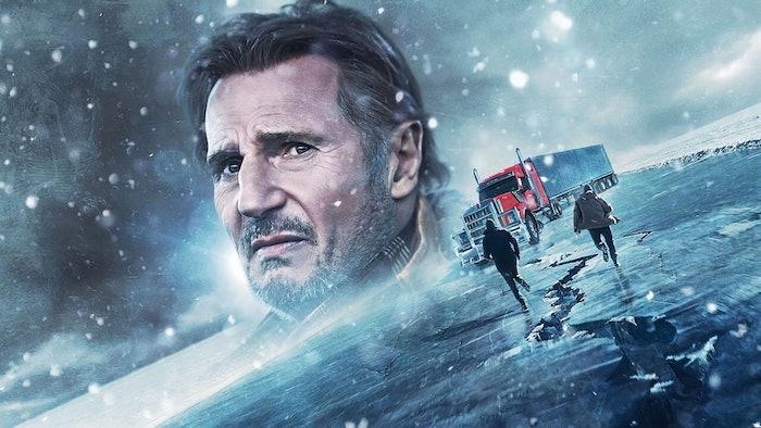 Ice Road movie graphic