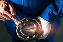 greasing a bearing