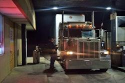 Fueling Truck Stop