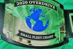 2020 small fleet champ award belt