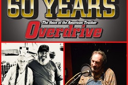 Paul Marhoefer (bottom right) channeled the story of Kay and Ken Wagner (bottom left) in late 2019 as part of the 'Faces' series. The Wagners didn't exactly divulge the secrets underlying their 45 years of team OTR work, yet their history spoke for itself. Read more in Overdrive's weekly 60th-annversary series of lookbacks on trucking history, and that of the magazine itself, via this link.